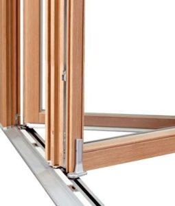 okno przesuwne drewniane FS