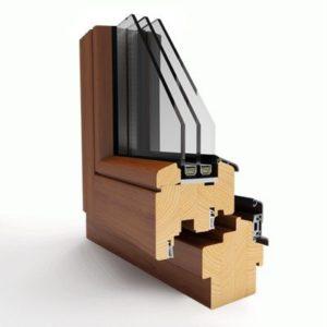 profil drewniany thermoline 78